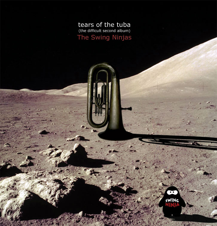 Tears Of The Tuba - The Difficult Second Album - Cover Artwork